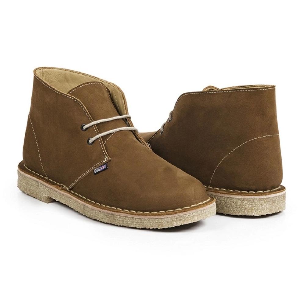 desert boot london style nobuck camel 1