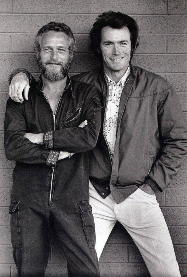 Paul Newman e Clint Eastwood