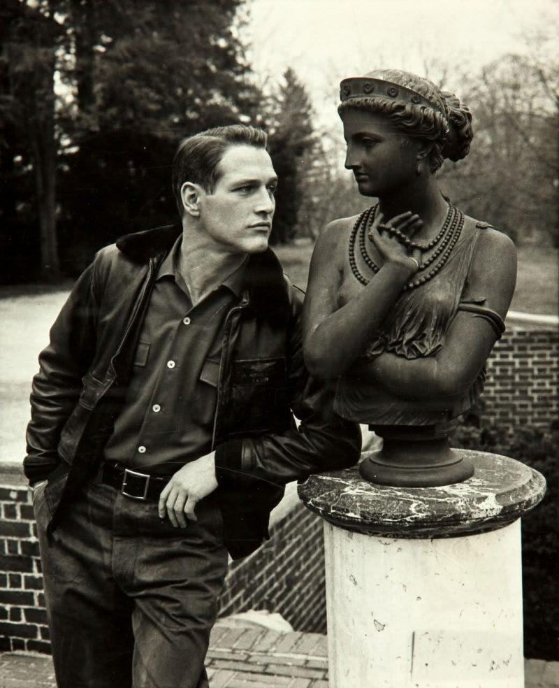 Paul Newman jaqueta bomber