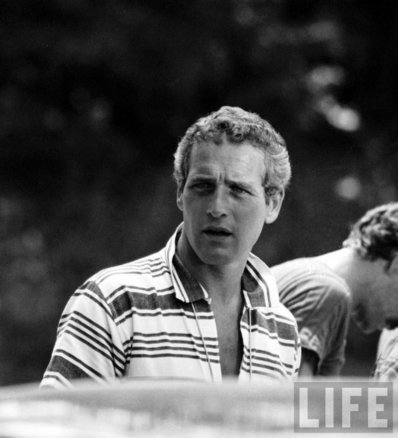 Paul Newman polo listrada