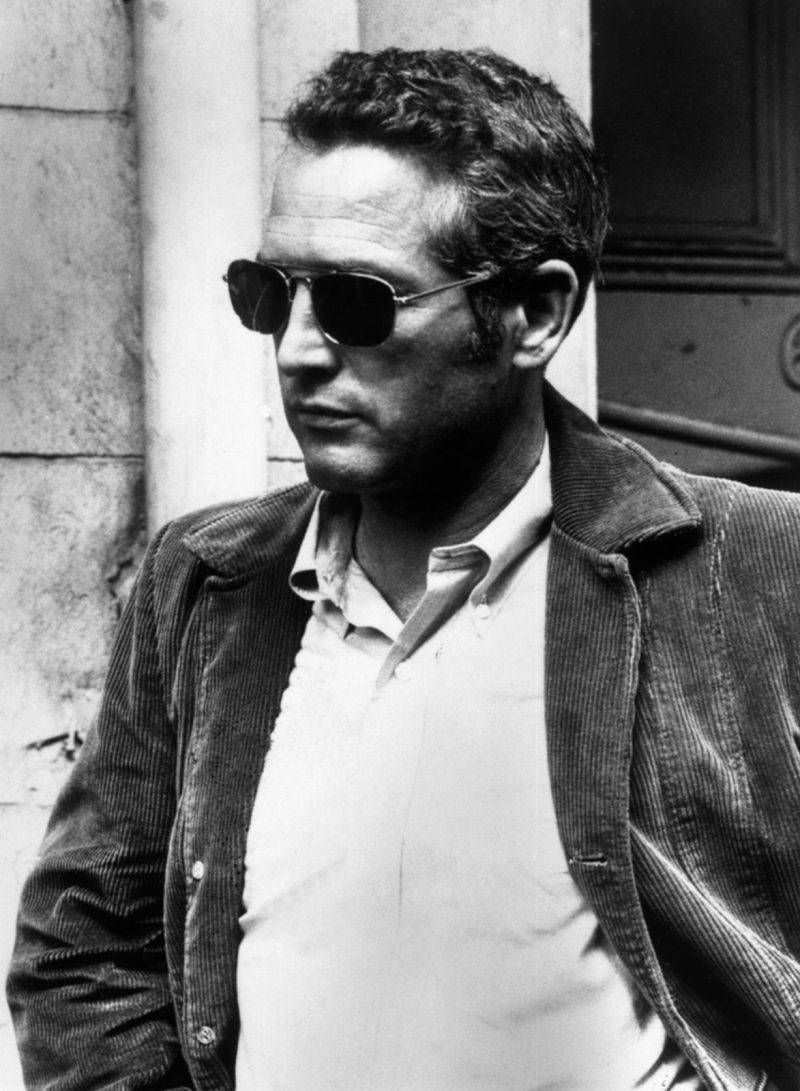 Paul Newman blazer de veludo cotelê