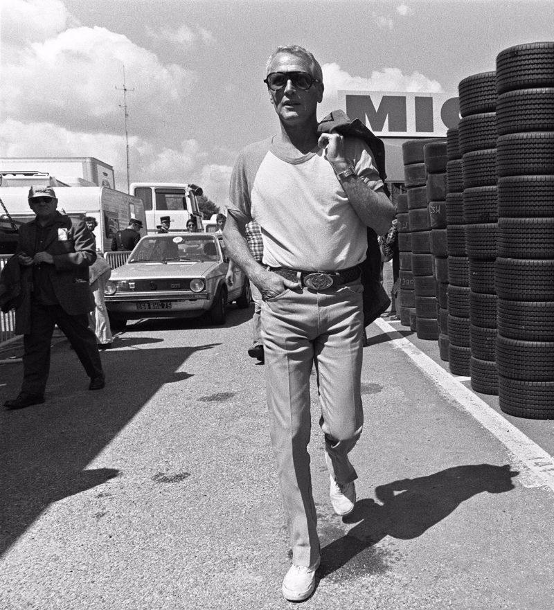 Paul Newman camisa raglan