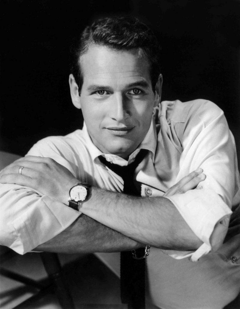 Paul Newman camisa button down