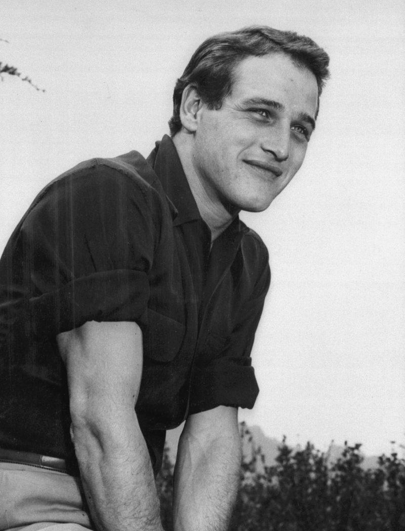 Paul Newman camisa flanela