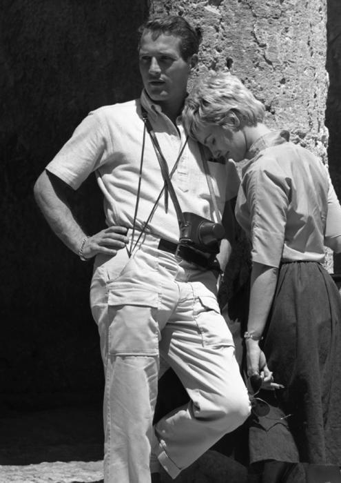 Paul Newman calça cargo em Israel