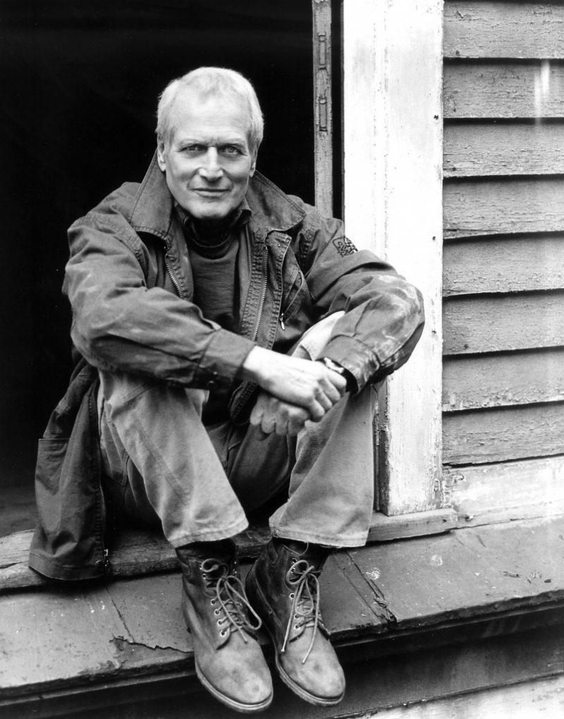 Paul Newman botas e parka