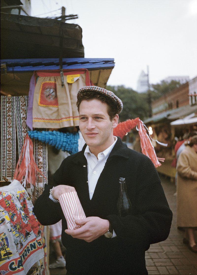 Paul Newman cardigã