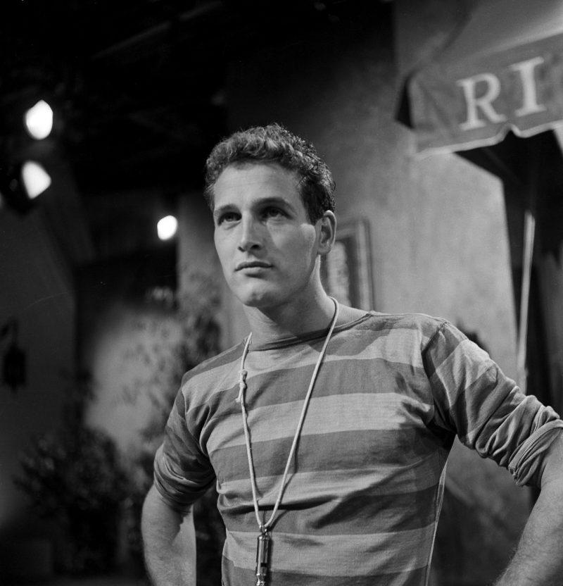 Paul Newman blusa listrada