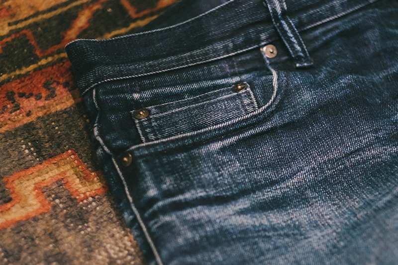 3Sixteen Kibata Shadow Selvedge Fades