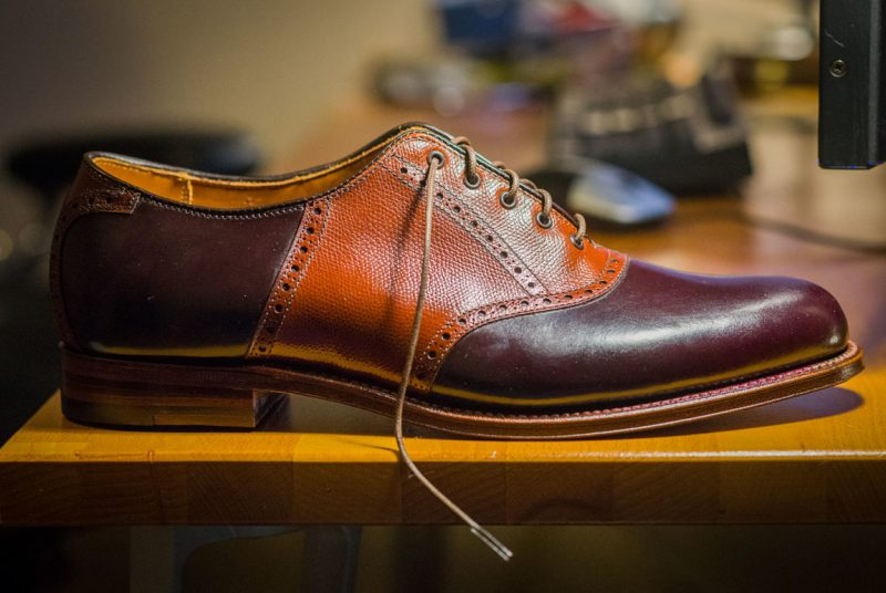 sapato saddle shoes