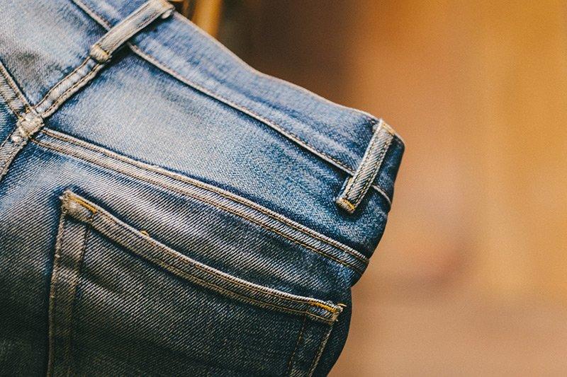 jeans desbotado apc raw denim fade 8