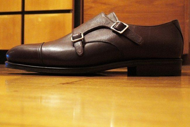 Sapato Double monk strap Meermin