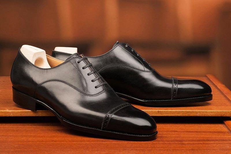 sapato masculino oxford preto st crispin
