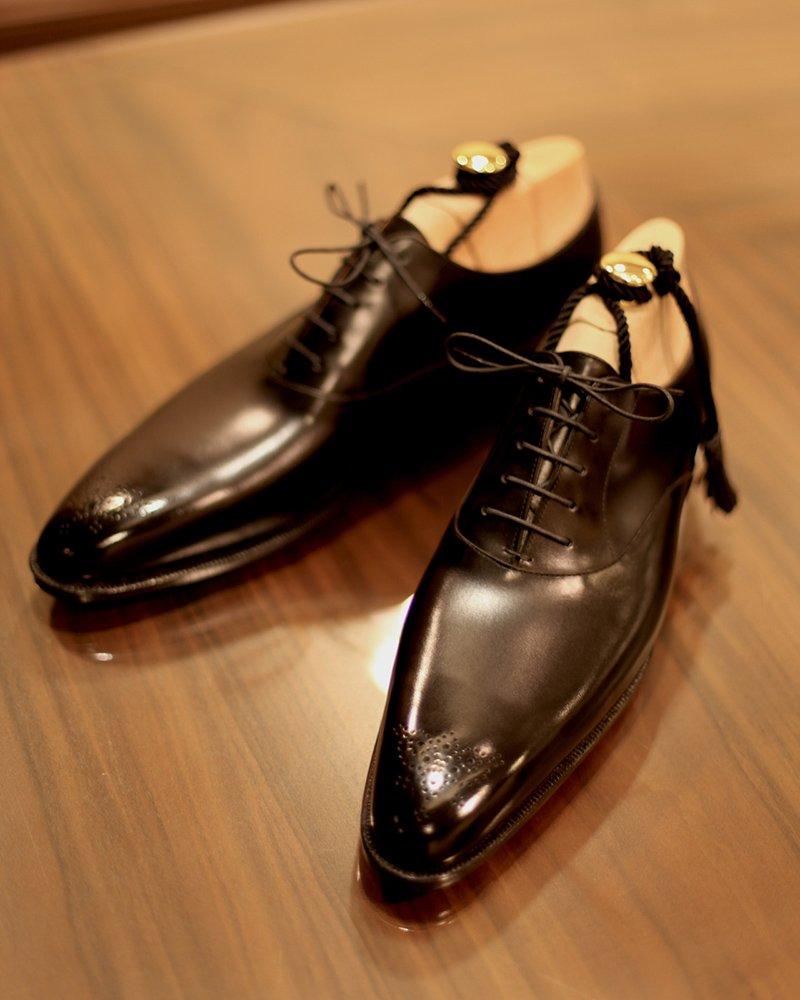 09dfc43524 Viu como são muitos estilos de brogue, tanto para sapatos oxford quanto  para sapatos derby?