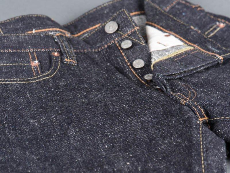 Calça Jeans cru raw denim