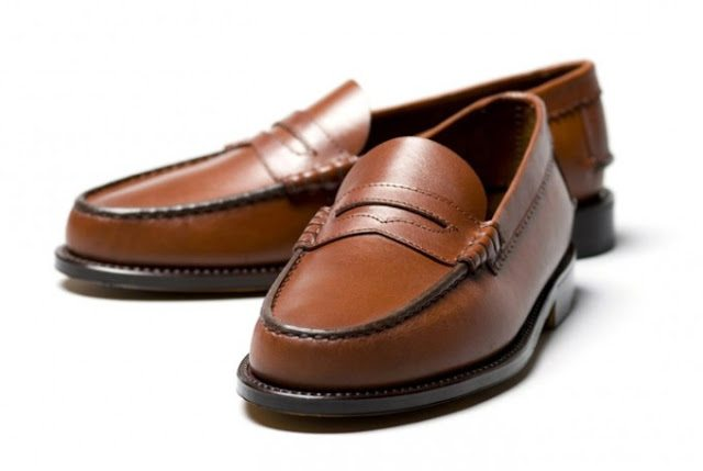 sapato penny loafer guido mocassines