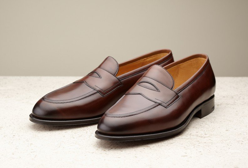 penny loafer edward green