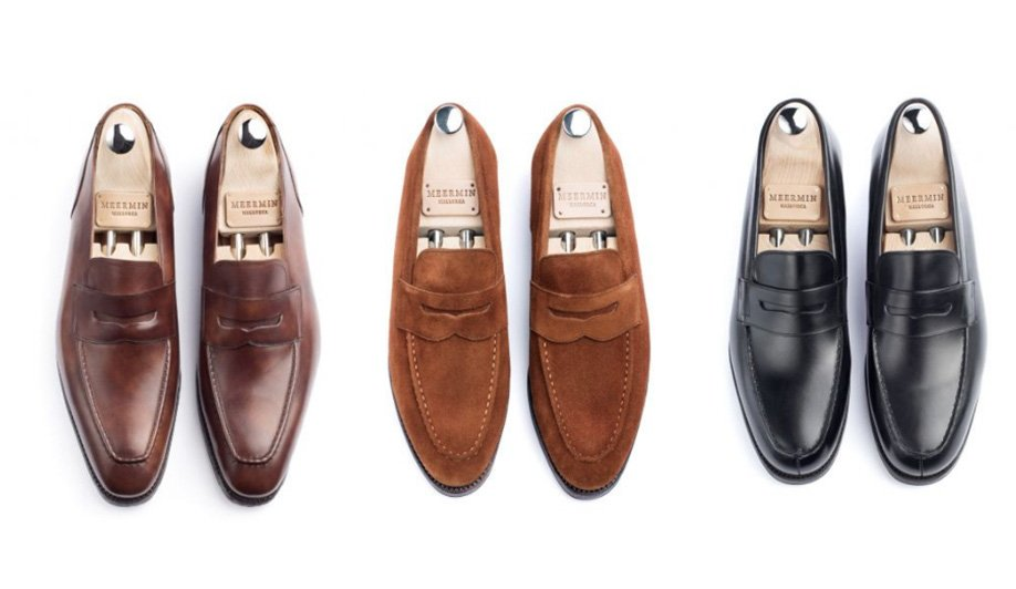 sapato penny loafer meermin