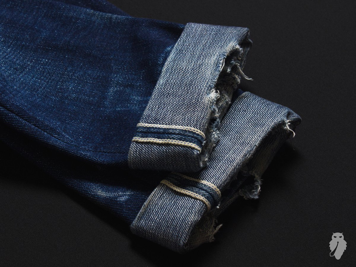 raw denim desbotado unbranded