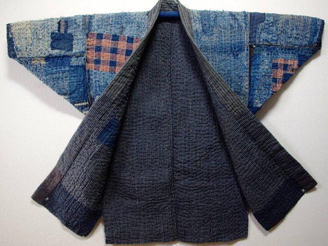 kimono tradicional japones boro