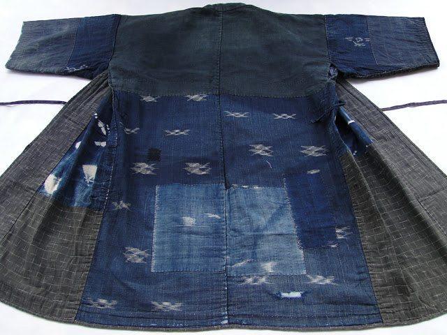 kimono boro tradicional japonês