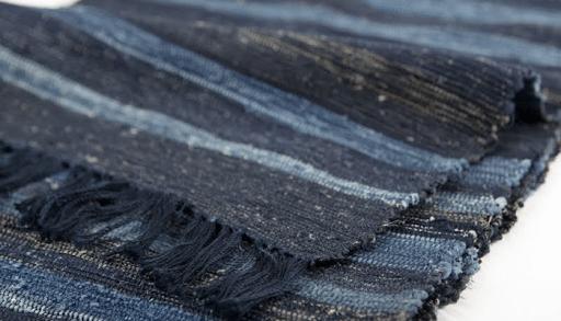 Saki-Ori: Feito usando tiras de tecido