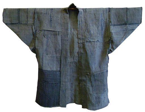 kimono japonês tradicional em boro