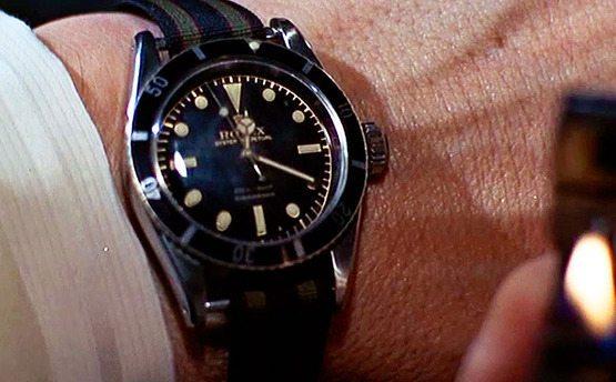 Relógio James Bond Rolex Submariner