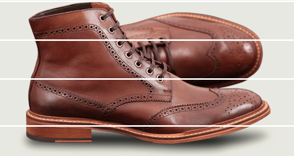 Bota Brogue Cometa