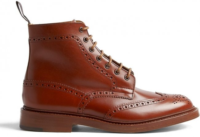 Bota Brogue Trickers