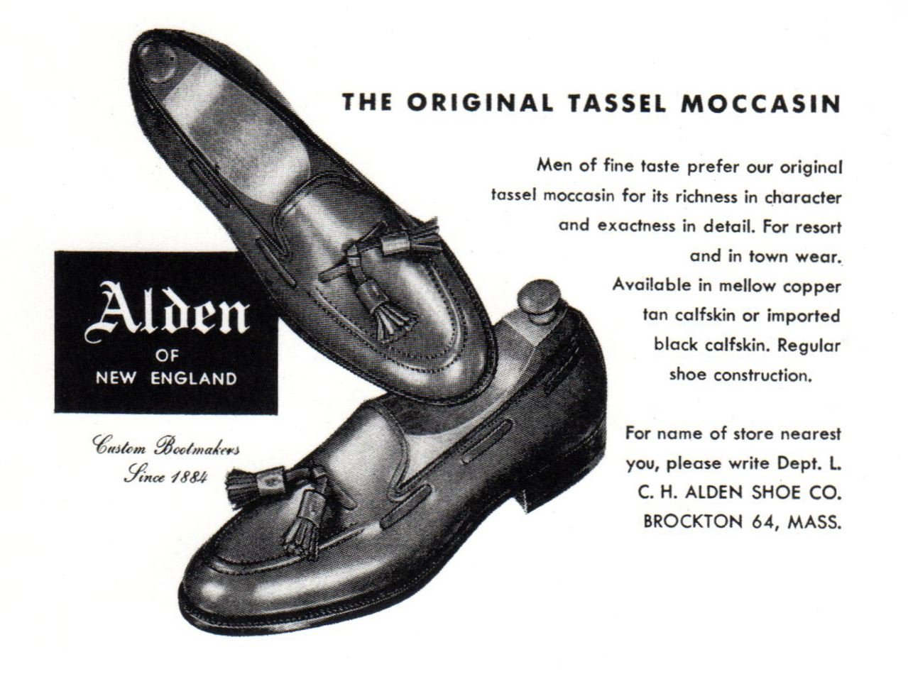 tassel loafer alden