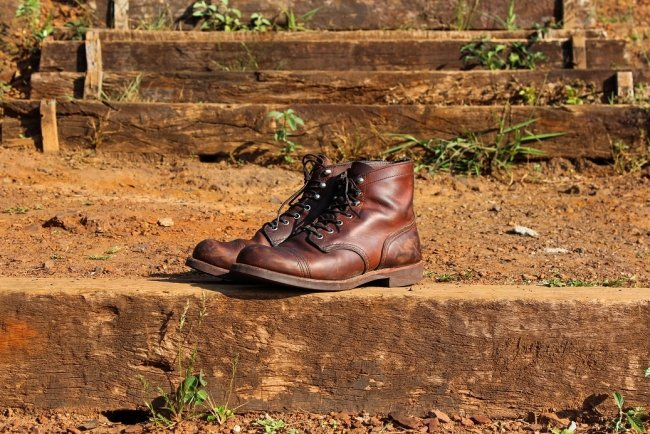 Bota Red Wing Iron Ranger Marrom