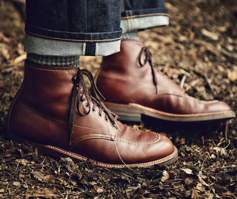 botas alden indy boots em couro chromexcel