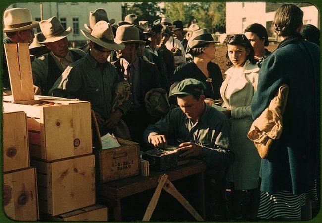 A Grande Depressão Americana: Imagens sobre a crise de 1929