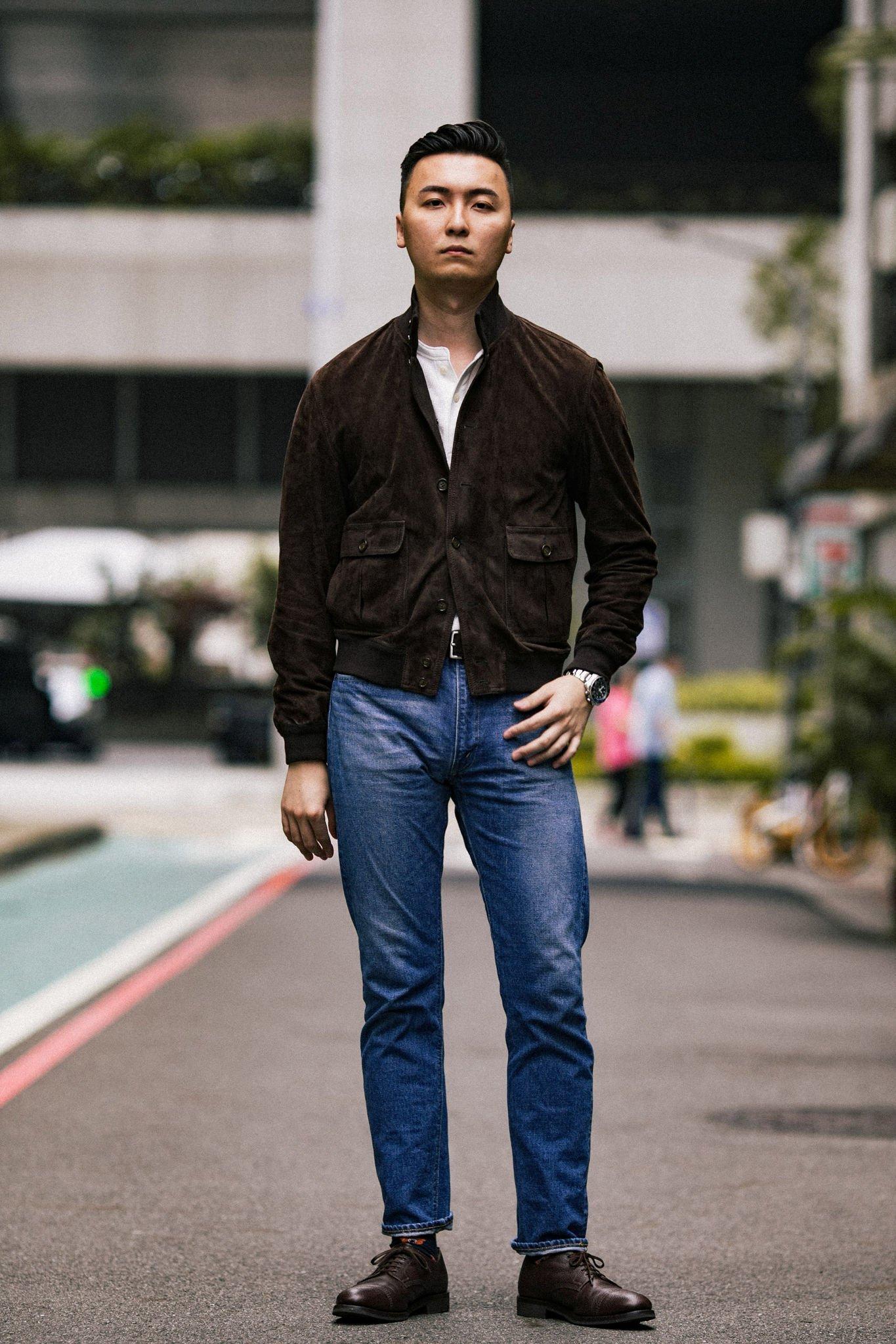 Jaqueta de Camurça Valstarino