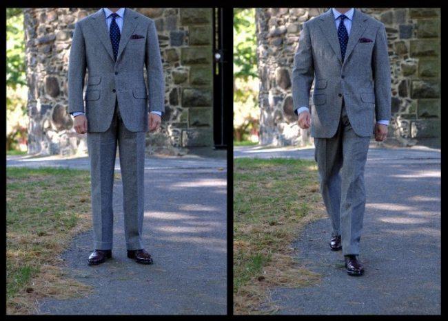 como um terno deve vestir no corpo