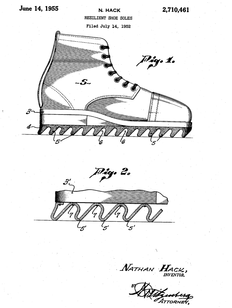 Patente da Ripple Sole, 1955