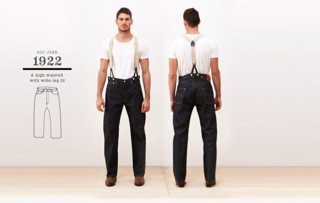 Jeans Levi's 501 de 1922