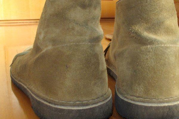 Como limpar a sua bota ou o seu sapato de camurça