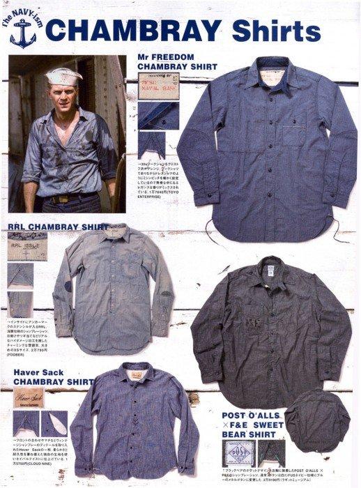 Steve McQueen e camisas de cambraia