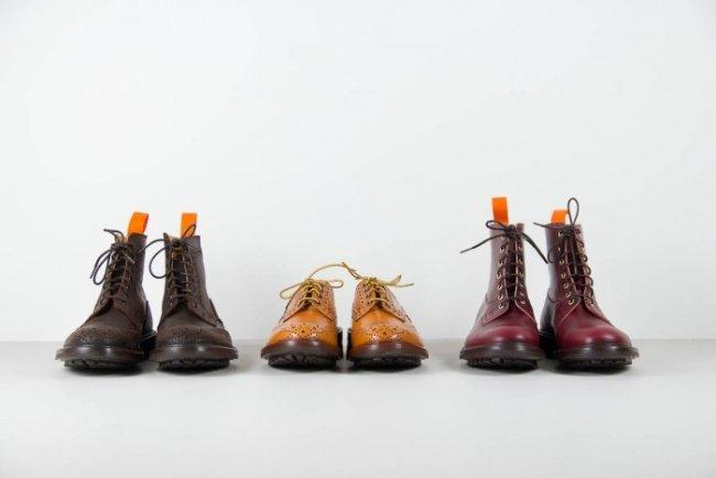Botas e sapatos brogue Trickers