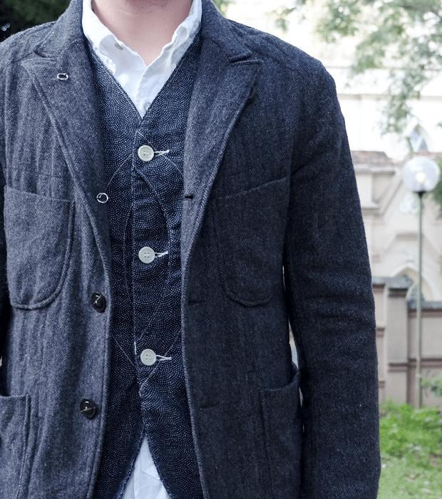 Engineered Garments Bedford, Post Overalls Vest, Engineered Garments 19th Century