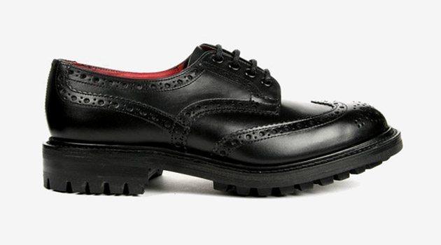 Sapato brogue Trickers x Junya Watanabe Come des Garçon
