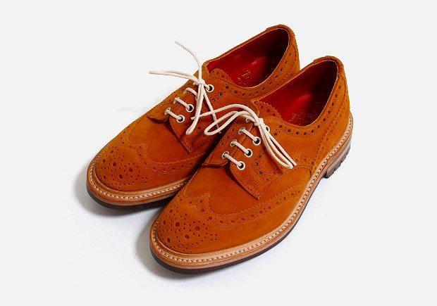 Sapato Brogue Trickers Junya Watanabe Comme des Garçon