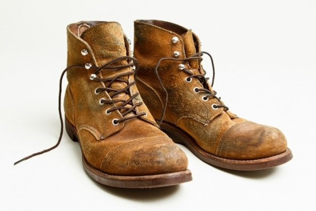Bota Red Wing Iron Ranger camurça Rough Out