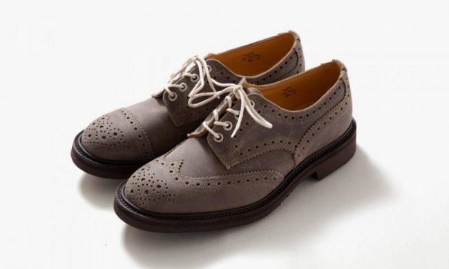 Sapato brogue Trickers para Nepenthes
