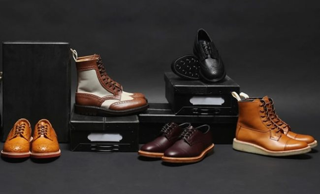 Botas e sapatos Trickers