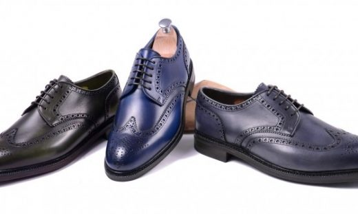 Sapato Brogue Meermin Crust Calf Coloridos