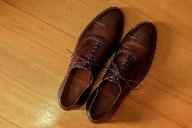 Sapato Oxford Marrom Allen Edmonds Park Avenue