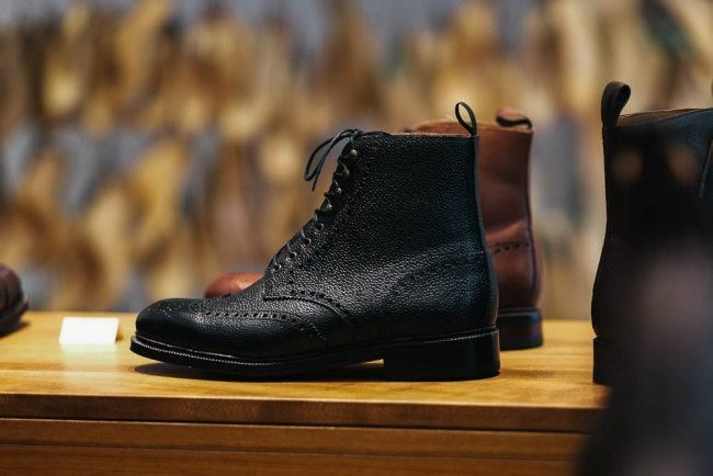 Meermin black boot